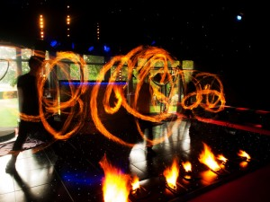 18th Birthday – Fire show