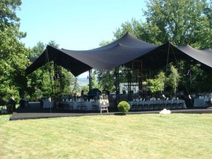 Wedding in France - Marquee