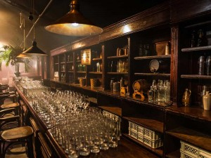 25th Wedding Anniversary - Prohibition Themed Bar