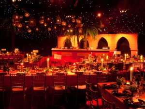 50th Birthday – Moroccan Themed Marquee